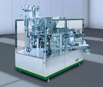 bag filler and sealer for bulk (automatic, open mouth bags) max. 40 p/min | FS 824 - FS 840 SN Maschinenbau GmbH