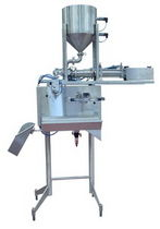 bag filler for liquids (liquid and pasty products) 3 - 8 p/min | D3DP THIMONNIER