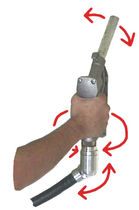 ball swivel fitting for distribution gun  MID