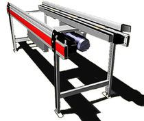 belt conveyor for boxes max. 50 kg, max. 1.2 m/s  TGW-Mechanics