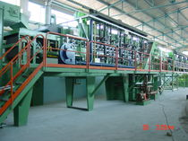 belt conveyor furnace for hardening, tempering and carbonitriding  Sistem Teknik Industrial Furnaces