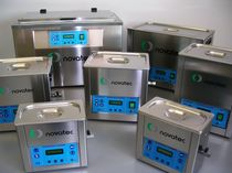 bench top ultrasonic cleaning tank MU NOVATEC srl - Surface Finishing Technology