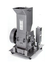 beside-the-press plastic granulator max. 200 lbs/h | E-series Hosokawa Polymer Systems
