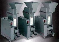 beside-the-press plastic granulator max. 165 lbs (75 kg) | SLOW SPEED Hosokawa Polymer Systems