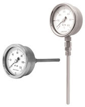 bimetallic dial thermometer max. 550 °C | BDTB1-18 Badotherm Group