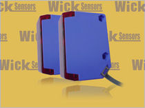 block type diffuse reflection photoelectric sensor with background suppression Q60 WICK ELECTRONIC COMPANY LIMITED
