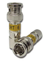 BNC connector UltraRange® series CORNING Telecommunications