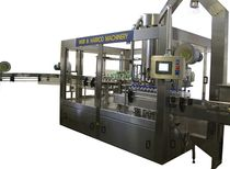bottle rinser filler and capper for liquids (food products) max. 100 p/min Weir & Harrod Packaging Machinery