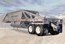 bottom dump trailer max. 14 700 lb | BD series Trail King