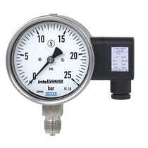 Bourdon tube pressure gauge with electrical output signal 10 mm, 0 - 1 000 bar | PGT23.100, PGT23.160 WIKA Alexander Wiegand