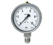 Bourdon tube pressure gauge  Parker Instrumentation Products Division - Europe