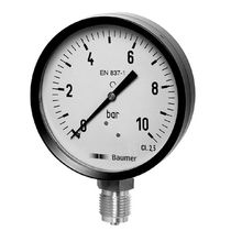 Bourdon tube pressure gauge max. 1 000 bar | MAT series Baumer Bourdon-Haenni