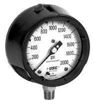 Bourdon tube process pressure gauge max. 11 600 psi | 1900 series AMETEK U.S. GAUGE