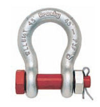 bow shackle with safety bolt and nut max. 130 t | G-2130/S-2130 series The Crosby Group