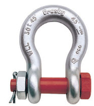 bow shackle with safety bolt and nut 30 - 400 t | G-2140/S-2140 series The Crosby Group