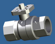 brass ball valve DN 8 - 100 | KH series ARIS