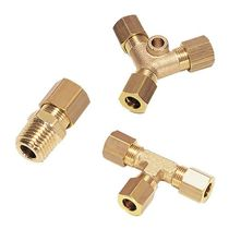 brass double ferrule fitting  Parker Hannifin Manufacturing France SAS