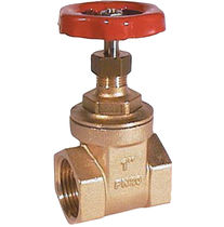 "brass gate valve 1/4"" - 4"", PN 20 