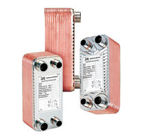 "brazed plate heat exchanger 3/4"", 30 bar 