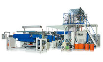 bubble wrap cast film extrusion line max . 2 500 mm Chi Chang Machinery Enterprise Co., Ltd.