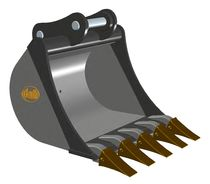 bucket 1 - 8 t | MX series Geith International Ltd.