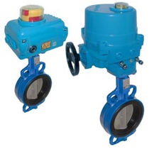 butterfly valve with electric actuator DN 50 - 300, PN 16 | WA-NE series END-Armaturen GmbH & Co. KG