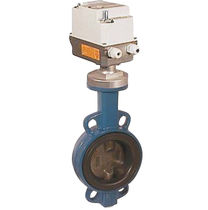butterfly valve with electric actuator DN 40 - 80, PN 16 | TA-ES series END-Armaturen GmbH & Co. KG