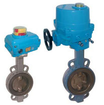 butterfly valve with electric actuator DN 40 - 500, PN 16 | TA-NE series END-Armaturen GmbH & Co. KG