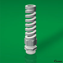 cable gland with spiral flex protector  CENA Kunststoff GmbH
