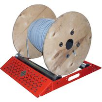 cable reel unwinder with rollers max. 140 kg, ø 150 - 700 mm MECCANICA NICOLETTI