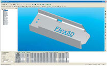 CAD / CAM software for profile machining Lantek Flex3d SteelWork Lantek Sheet Metal Solutions S.L.