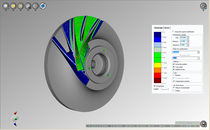 CAD to part comparison software for inspection NCSIMUL Machine SPRING TECHNOLOGIES