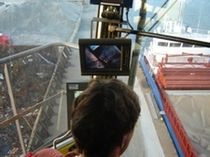 camera vision system for harbor crane  Orlaco Products BV