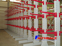cantilever racking CR series nanjing faithdale logistics equipment