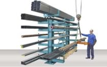 cantilever racking for long charges  Stierli-Bieger AG