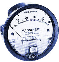 capsule differential pressure gauge  Menardi