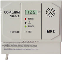 carbon monoxide (CO) detector CO-ALARM S/200-C Automatische Mess- und Regeltechnik GmbH