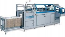 cardboard box / case erector (hot melt glue) 20 - 55 p/min | 450 series A-B-C Packaging