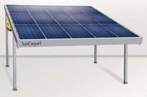 carport with integrated photovoltaic panels max. 2 000 W | SunCarport® Solarworld AG