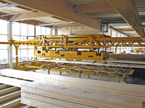 cartesian loading and unloading robot for wood industry Pick & Feed Hans Hundegger Maschinenbau GmbH
