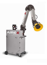 mobile cartridge dust collector: mechanical shaker PDC series AIREX Industries