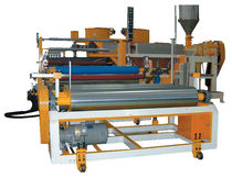 cast film extrusion line for waterproof films  Ching Hsing Iron Works Co., Ltd.