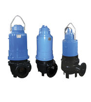 cast iron submersible wastewater pump WQ DeTech Pumps Company Ltd.