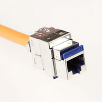 category 6a modular jack connector RJ45, max. 500 MHz | LANmark-6A series  Nexans