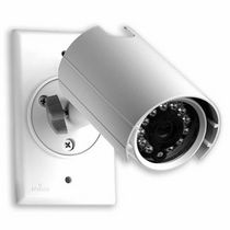 CCTV camera with infrared illuminator VSOUT-W Leviton