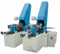 centerless belt grinding-polishing machine for bars and tubes W series ARCOS SRL