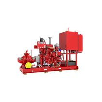 centrifugal engine-driven pump for fire fighting max. 7 000 gpm | 1800F, 5800F, 5900F, HGT series Fairbanks Nijhuis
