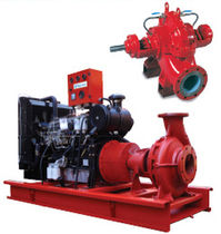 centrifugal engine-driven pump for fire fighting max. 795 m³/h  Türbosan   Türbomakinalar San. ve Tic. A.S.