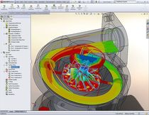 CFD software Flow Simulation SOLIDWORKS