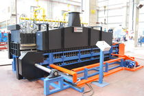 chain conveyor furnace for leaf springs  Sistem Teknik Industrial Furnaces